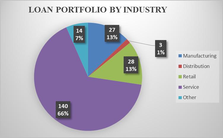 Loan Portfolio by Industry