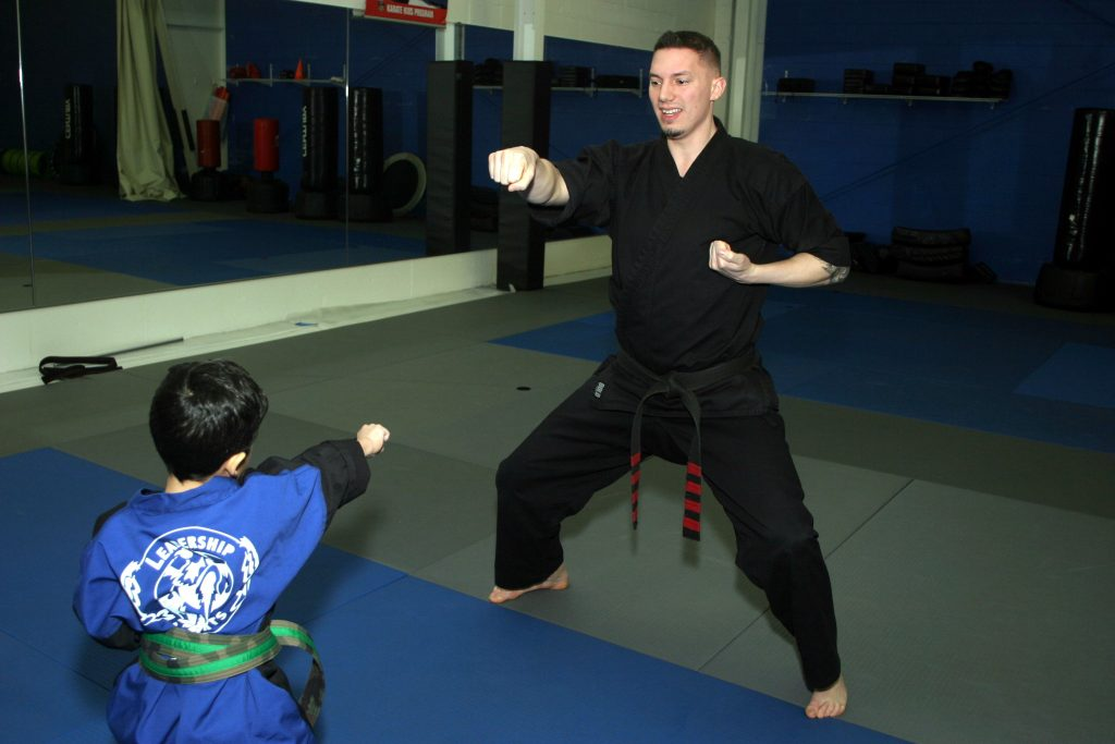 Leadership Martial Arts practice