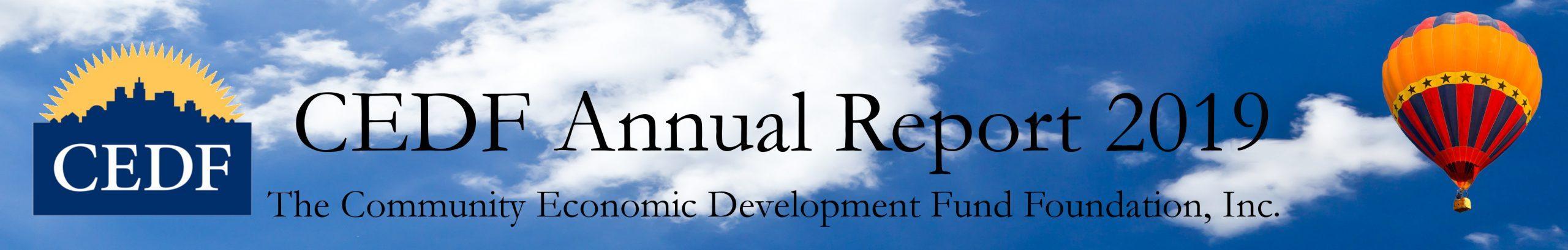 CEDF Foundation Annual Report